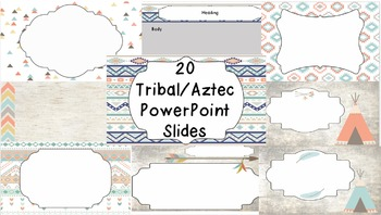 Powerpoint Templates - Tribal Aztec