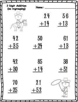 20+ Two-Digit Addition Activities (no regrouping)