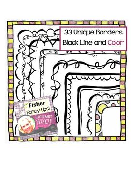 33 Unique Borders