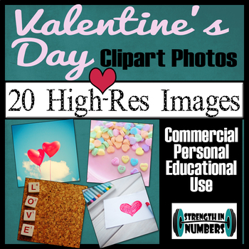 20 Valentine's Day Photos High Resolution Commercial Photographs Clip Art