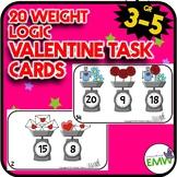 Valentines Day Math Logic Task Cards