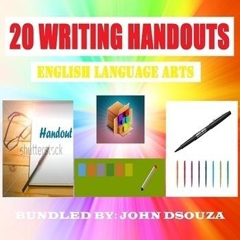 20 WRITING HANDOUTS: BUNDLE