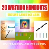 WRITING SCAFFOLDING NOTES - BUNDLE