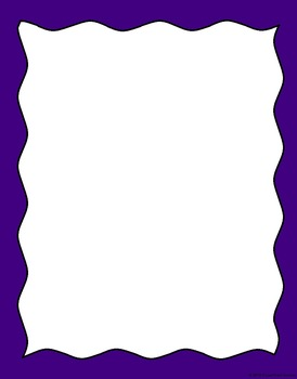 20 Wavy Borders for Commerical/Personal Use