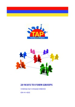 20 Ways to Form Groups - Sample