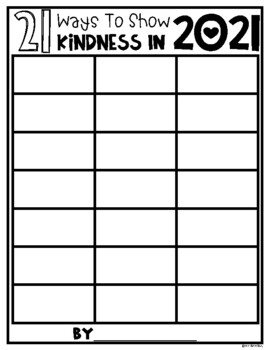 20 Ways to Show Kindness in 2020