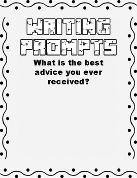 20 Writing Prompts