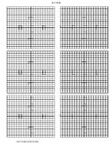20 X 20 Grids - 6 per page