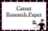 20 Years From Now (Career Research Paper)