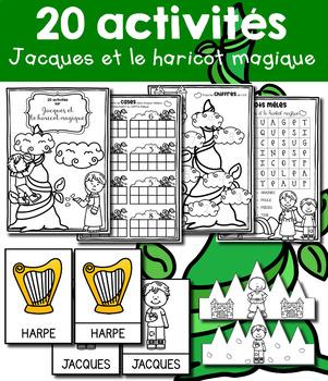 20 activités - Jacques et le haricot magique