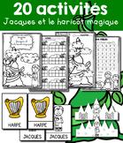 20 activités - Jacques et le haricot magique - Jack et le