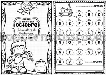 20 activités pour Octobre
