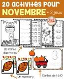 20 activités pour novembre