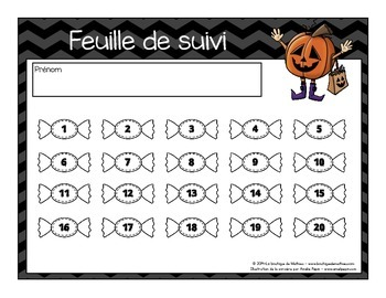 20 cartes à tâches de lecture (Halloween – 1er cycle)