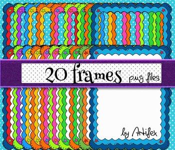 FRAMES. 20 frames! Vol 1.