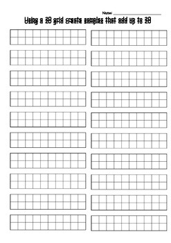 20 grids - How many ways can you show 20?