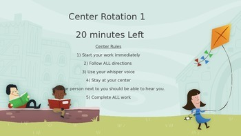 20 minute center rotation timer