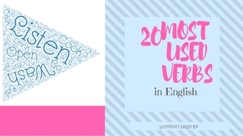 20 most used verbs in English