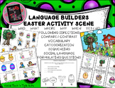 Language Builders Easter Activity Scene