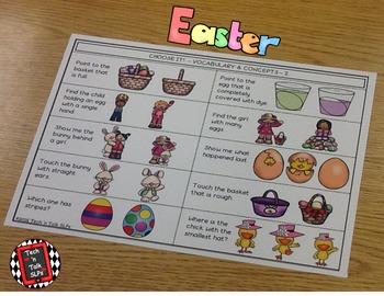 Language Builders Easter Activity Scene