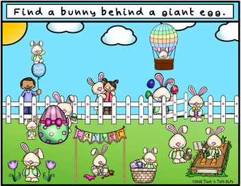 Where is the Bunny - Spatial Concepts