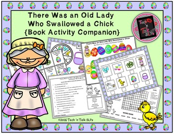 There Was an Old Lady Who Swallowed a Chick (Book Companion)