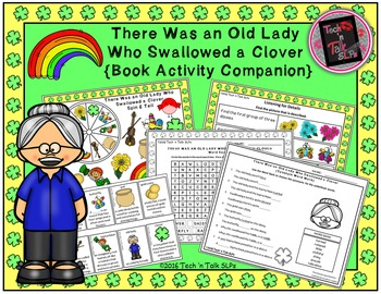 There Was an Old Lady Who Swallowed a Clover ( Book Companion)