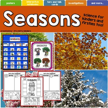 Seasons: Winter, Spring, Summer, Fall