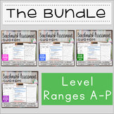 Benchmark Assessment System BUNDLE A-P