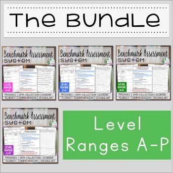 Benchmark Assessment System BUNDLE A-P
