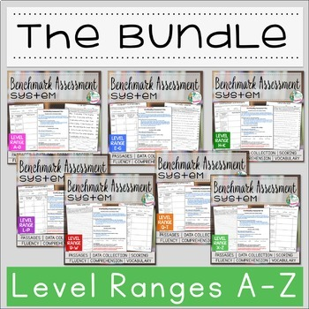 Benchmark Assessment System BUNDLE A-Z