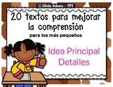 Textos para la comprensión de los más pequeños - Idea Principal
