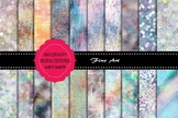 20 x Opal Textured Papers, High Resolution Printable Files.