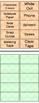 Classroom Labels Chevron Theme Plus BLANK LABELS - Math, S