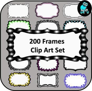 200 Clip Art Frames
