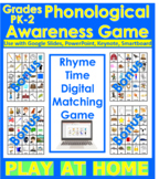 Rhyme Time Digital Matching Game + Bonuses: Distant Learni