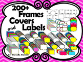 Doodle Frames, Page covers, borders & Labels- 200+Personal & Commercial Use