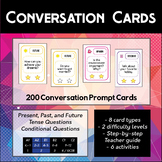 200 English Prompt Conversation Cards