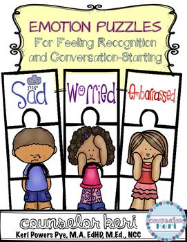 FREEBIE: Feelings/Emotions Puzzles