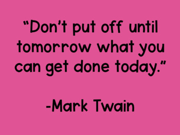 200 Inspirational Quotes- Quote of the Day, Journal Prompts, Bellringers, etc.