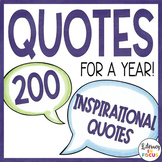 Quote of the Day - 200 Inspirational Quotes
