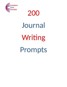 200 Journal Writing Prompts