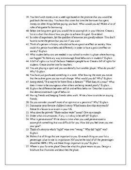 200 Journal Prompts (Aligned with the CCSS)