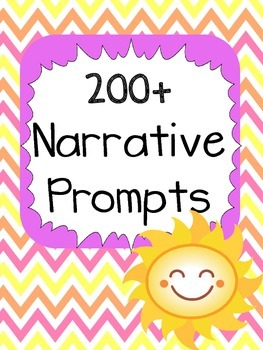 200+ Narrative Wiritng Prompts