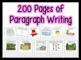 200+ Paragraphs for Centers, Homework, Morning Work {1st, 2nd & 3rd Grade}
