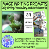 200 Picture Writing Prompts with Visual Supports for Autism Units or SpEd