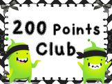 200 points club