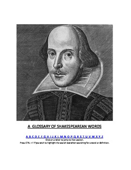 2000+ Shakespearean Vocabulary Words Completely Free