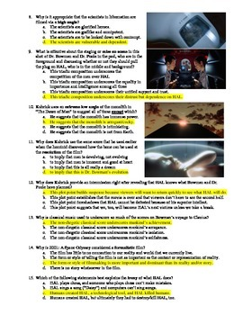 2001: A Space Odyssey Film (1968) 15-Question Multiple Choice Quiz