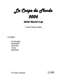 2006 FIFA World Cup - French Study Guide